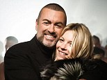 Pals: Kate Moss has penned a review for Vogue on George Michael's album Symphonica