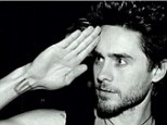 New cut? Jared Leto shared an Instagram photo on Monday showing himself with short hair and not his usual long locks