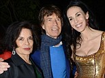 'May she rest in peace': Bianca Jagger leads tributes to ex-husband Mick's girlfriend L'Wren Scott after fashion designer commits suicide