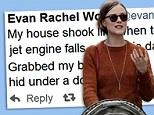 'Grabbed my baby and hid under doorway!' Evan Rachel Wood Stars and fellow celebrities react to 4.4 magnitude LA earthquake