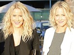 Sweet: The twins remain close and have retained their looks as they approach their fortieth birthdays