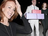 Fabulous at 52! Desperate Housewives star Marcia Cross looks in top shape at birthday fete... where she gets some BIG presents