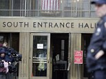 Tourist attraction: Visitors are flocking to to Manhattan Criminal Court in New York to see law-and-order in action during the 5pm to 1am night session in the court