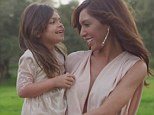 She is adorable: Farrah said last month that she'll allow daughter Sophia to get plastic surgery 'if there's something she can't live with'