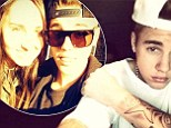 Justin Bieber poses with fan who waited for picture during his 24 hour studio session