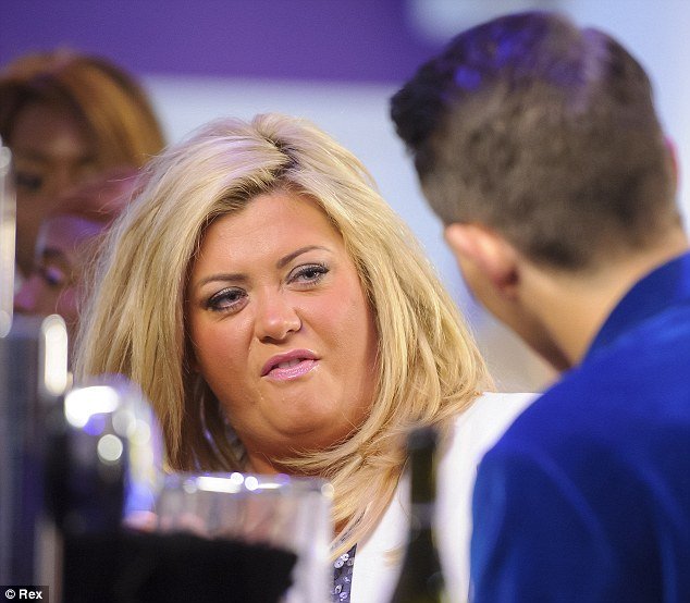 About to say the f-word? Gemma Collins and Bobby Norris bump heads in the latest episode