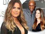 'I'm going through it, but I'm not through it': Khloe Kardashian opens up about divorce from Lamar Odom... and how 'hard' it's been to watch on TV