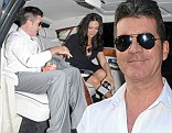 Date night: Simon was spotted enjoying a dinner date with girlfriend Lauren