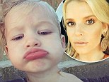 Just like mommy! Jessica Simpson's daughter Maxwell adorably pouts away for an Instagram selfie