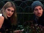 A cheeky cigarette? Mischa Barton and her rumoured love Alan Cappelli Goetz were spotted making what looked like a roll up cigarette in the park of the Villa Borghese in Rome on Monday