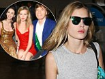 Pictured: Grief-stricken Georgia May Jagger flies back to New York after cancelling Australian fashion week appearance following death of L'Wren Scott