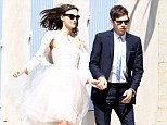 Destroyed: Keira Knightley has admitted ruining her Chanel wedding dress by spilling red wine on it