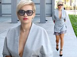Get the Rita look! Ms Ora showcases her enviable figure in a plunging romper as she debuts her first ad for Rimmel
