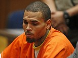 Behind bars again: Chris Brown to spend over ONE MONTH in jail after being kicked out of rehab