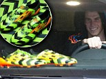 Bale goes crazy for his new boots! Real Madrid ace 'can't wait' to test new wheels... which weigh just 135g!