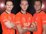 England go Dutch with orange kit for World T20 - and outlook is bright for skipper Broad
