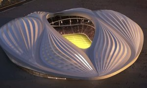 Qatar's accidental vagina stadium is most gratifying