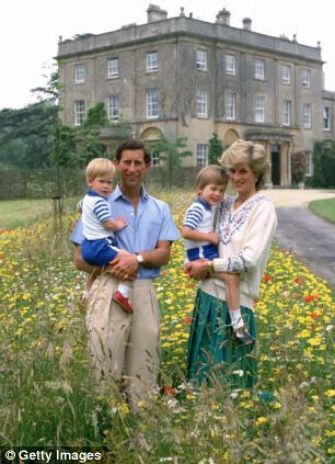 The young princes spent much of the year in the colourful Highgrove meadows with their parents