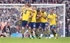 Fulham v Arsenal - Premier League action: in pictures