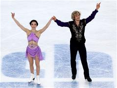 Meryl Davis and Charlie White claim first ice dancing gold for USA