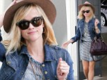 Taking care of business! Reese Witherspoon brings a touch of casual chic to the office