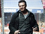 He's a real-life hero! Liam Neeson saves stray dog from 'teenagers throwing stones at it'