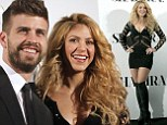 Less is more! Shakira flashes the flesh in plunging crocheted top, mini skirt and thigh high boots at album event with soccer beau Gerard Pique
