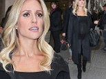 Kristin Cavallari steps out in kinky boots while SEVEN months pregnant... as she admits she doesn't want Jay Cutler too close in delivery room