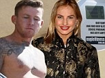 Are they back on? Bad boy NRL player Todd Carney watches on as removalists move belongings from ex-girlfriend Lauryn Eagle's van and into his flat