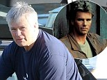 Richard Dean Anderson finishes his grocery shopping at Ralph's in Malibu.