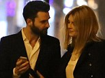 She really is making the most of Rome! Mischa Barton enjoyed an evening with her movie producer Andrea Lervolino on Monday night