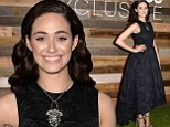 Nothing Shameless about her! Emmy Rossum oozes old Hollywood glamour at H&M Conscious Collection dinner