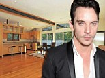 Time to go: Jonathan Rhys Meyers has put his Los Angeles home up for sale for $1.6million