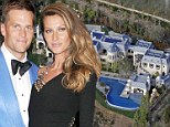 Gisele Bundchen and Tom Brady list $50m LA 'fortress' mansion after spending five years building it as they plan move to Boston