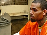 Chris Brown LA jail cell revealed after singer is ordered to stay in prison
