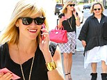 Like mother, like daughter! Reese Witherspoon and lookalike mother Betty step out on rare outing in matching sunglasses and red lipstick