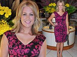Petal power! Sunrise host Samantha Armytage is InStyle at cocktail event wearing a hot pink floral frock