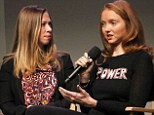 Chelsea and Lily take on NYC: Former President Clinton's daughter interviews British beauty Cole about goodwill website