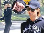 Stacy Keibler debuts giant ring following secret wedding to Jared Pobre as she steps out amid pregnancy rumours