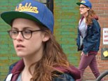 Empire State Of Mind? Kristen Stewart looks deep in thought as she hits the streets of New York