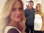 'I had no idea!' Kristin Cavallari and Nick Lachey joke about their sons having same name as pregnant Hills star glows in two monochrome dresses