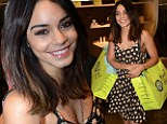 Ready for Coachella! Vanessa Hudgens stocks up for her favourite music festival during Beverly Hills shopping trip