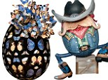 designer easter egg hunt