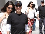 Spending his birthday with the bump! Bruce Willis celebrates turning 49 on a stroll with his pregnant wife Emma Heming in Beverly Hills