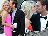 Who's playing hard to get now? Bachelor Juan Pablo's girlfriend Nikki Ferrell is distracted as he plants kiss on her... after he did the same just days ago
