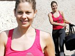 Looking great at 37! Full House star Candace Cameron Bure displayed a very fit form as she arrived at DWTS rehearsals on Friday