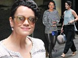 Lily Allen wears three outfits in one day