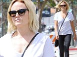 Out and about: Malin Ackerman showed off a svelte physique while out in Los Angeles on Thursday