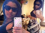 '5 more lbs to go!' Nicki Minaj reveals weight loss while showing off her amazing derriere in booty selfie