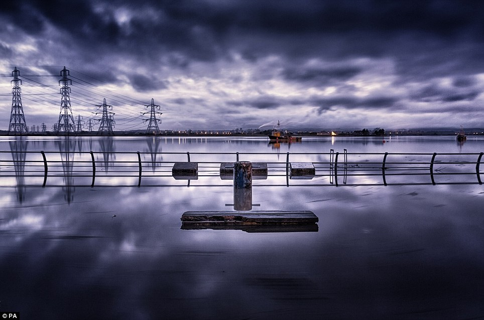 Watching the tide roll away (II) at Alloa, Scotland taken by finalist Brian Smith, from Tullibody, Scotland